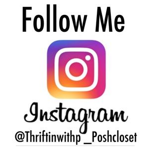Follow Me on IG @thriftinwithp_poshcloset